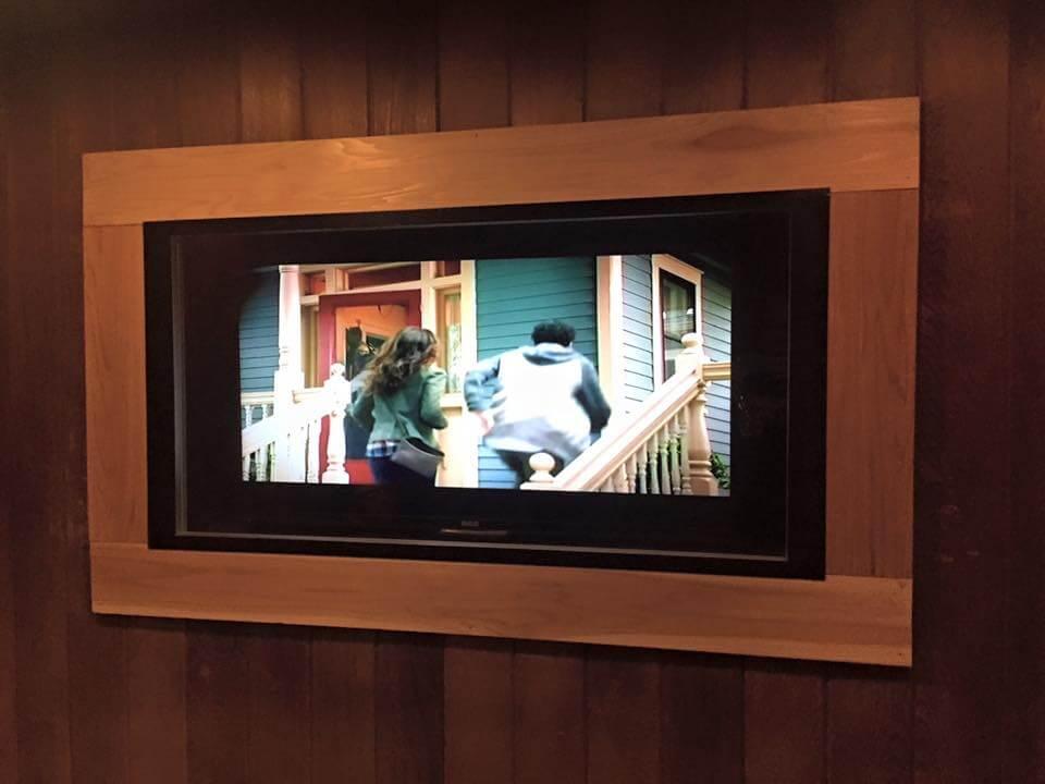 sauna-television
